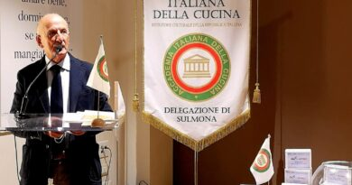 LA DELEGAZIONE DI SULMONA DELL'ACCADEMIA ITALIANA DELLA CUCINA SOSTIENE I PROGETTI DI RICERCA DELLA FONDAZIONE ISAL
