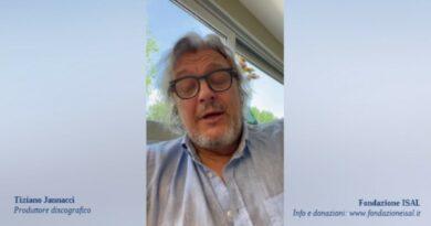 Tiziano Jannacci a sostegno della ricerca sul dolore cronico di ISAL